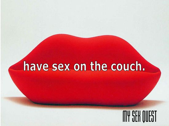 mysexquest.com/ Have Sex on the couch #mysexquest The Android app Coming soon to GOOGLE PLAY - EXPLORE YOUR ULTIMATE SEX QUEST AND ENHANCE YOUR SEX LIFE WITH COUNTLESS POSSIBILITIES. Simply the World's best guide to all the things you can do to spice up your sex life for both singles and couples.