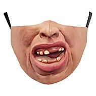 Face cover Homme Polyester Taille unique Beige 1 pc / paquet Adultes Anti UV Quotidien Basique Toutes les Saisons
