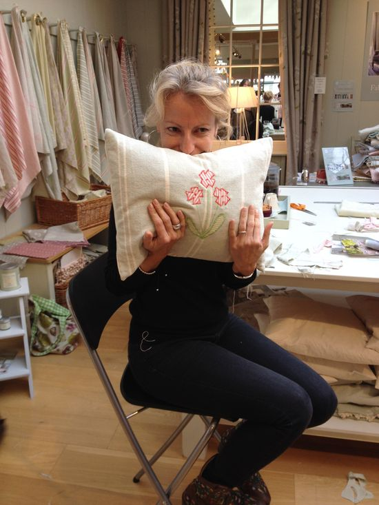 Another gorgeous cushion hand made by you!