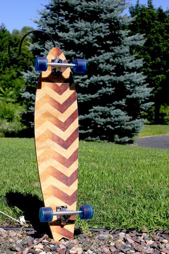 "Handmade 39"" pintail longboard for sale! $150"