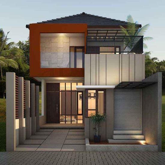 20 Ide Desain Rumah Minimalis Type 36 2 Lantai Terbaik Desain Rumah Minimalis Rumah Minimalis Desain Rumah