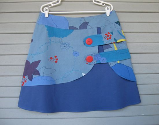 Sketchbook double layer skirt Sz 14 by LoveToLoveYou on Etsy, $72.00