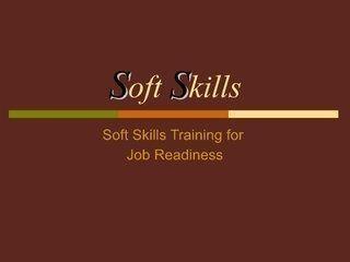 soft skills training for