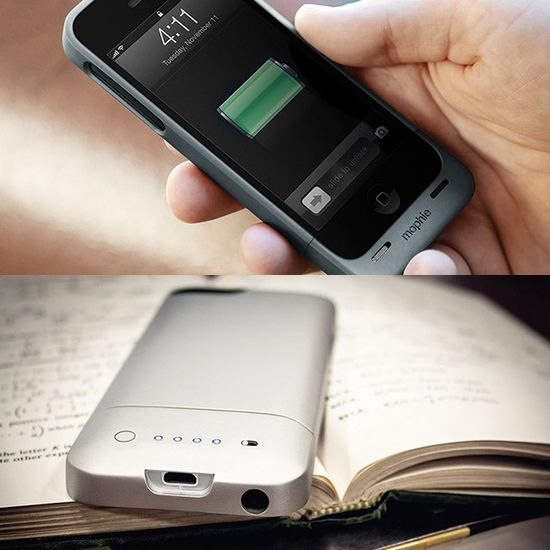 Fancy - iPhone 5 Juice Pack Helium by Mophie