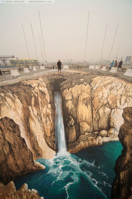 Amazing 3D Arts on street