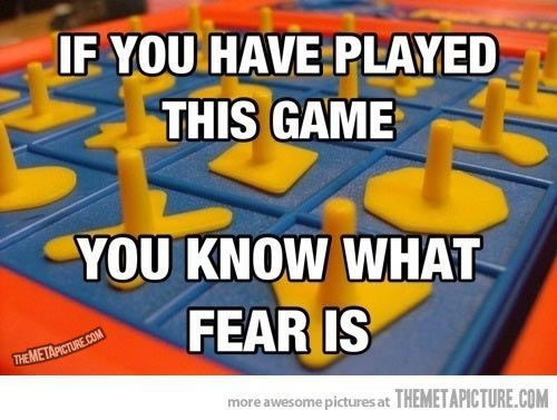 I blame this game for my lifelong fear of loud sudden noises…