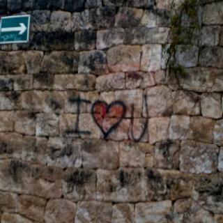 I ? U  #Graffiti