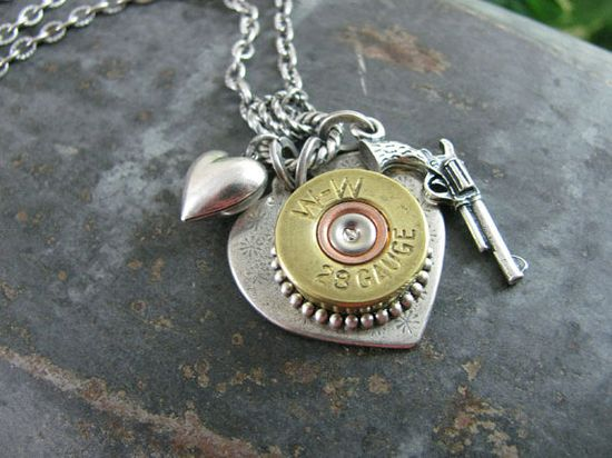 Shotgun Jewelry. Want!