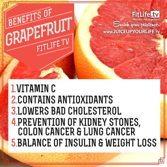 The Benefits of Grapefruit!