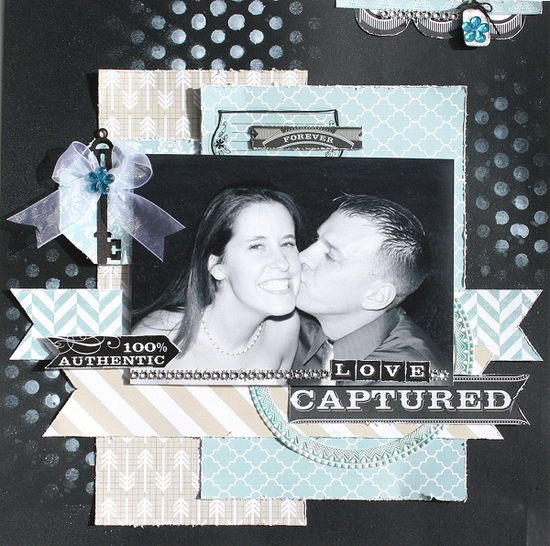 Love Captured  **my creative scrapbook** - Scrapbook.com