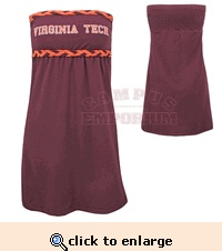 Virginia Tech Dress. I really need to add this to my summer clothes idea!!