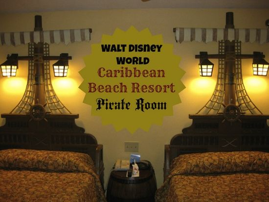 Disney Caribbean Beach Resort Pirate Rooms Review - The Photographer's Wife