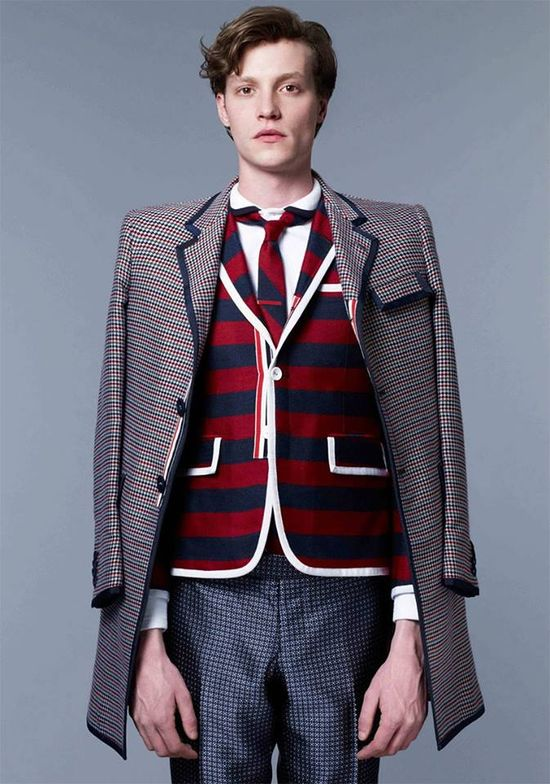 Thom Browne Fall Winter 2013 Lookbook