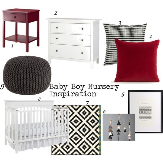 Baby Boy Nursery Inspiration by mhenning, via Polyvore