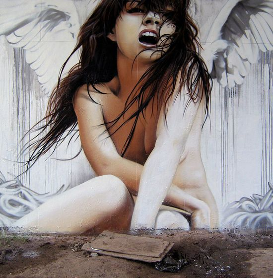 Graffiti Street Art by Smug One