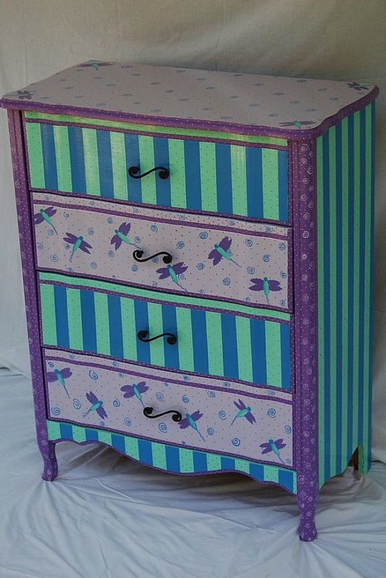 dragonflies #painted #furniture