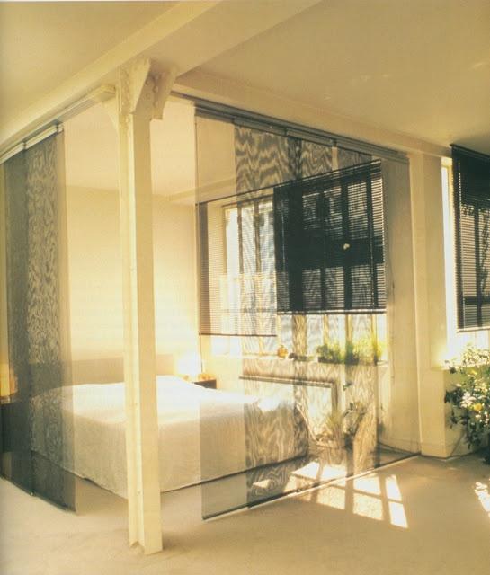 Andree Putman's Bed Room