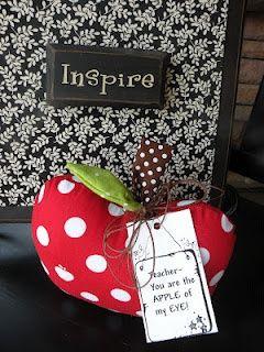 apple of my eye - teacher appreciation   #diy gifts #creative handmade gifts