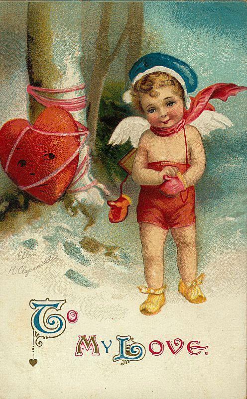 cupid & heart