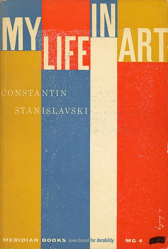 My Life In Art cover by Elaine Lustig 1957