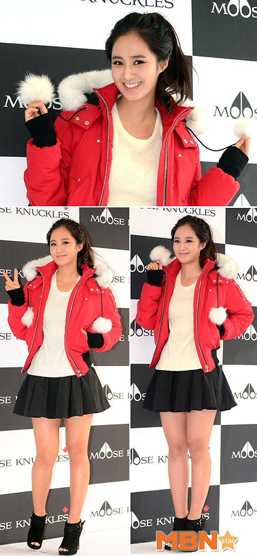 Girls' Generation's Yuri is pretty and sexy at 'Moose Knuckles' launch event ~ Latest K-pop News - K-pop News