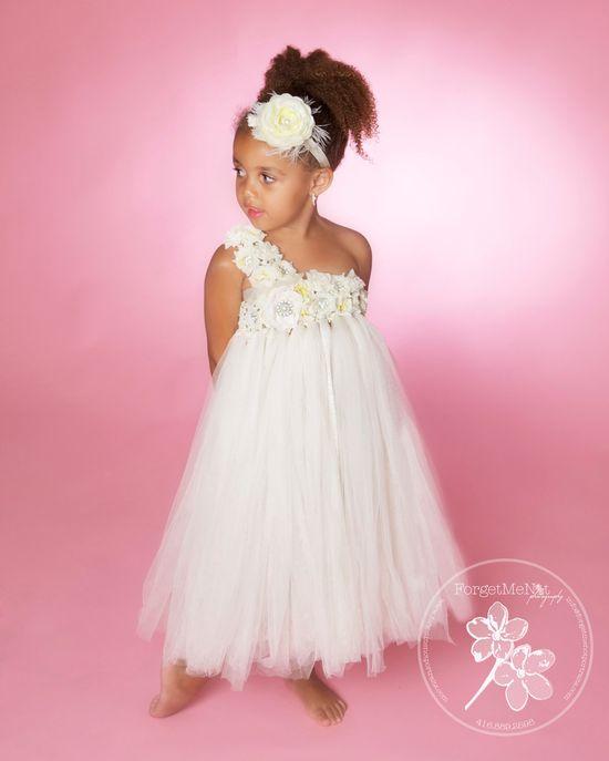 Tutu Dress..Birthday Tutu Dress.. Flower girl dress...