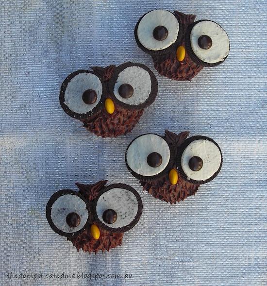 owl cupcakes  #cupcakes   #cupcakes