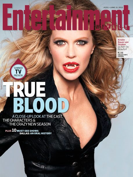 Pam makes True Blood too funny and sarcastic. Kristin's a great actress.   Kristin Bauer - Entertainment Weekly, June 15th, 2012