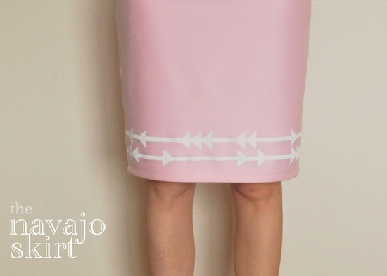 DIY skirt.  MAKE ME!!!