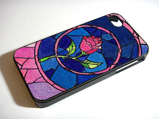 Rose Beauty And The Beast Prince iPhone 4 Case iPhone by Taurange, $18.00