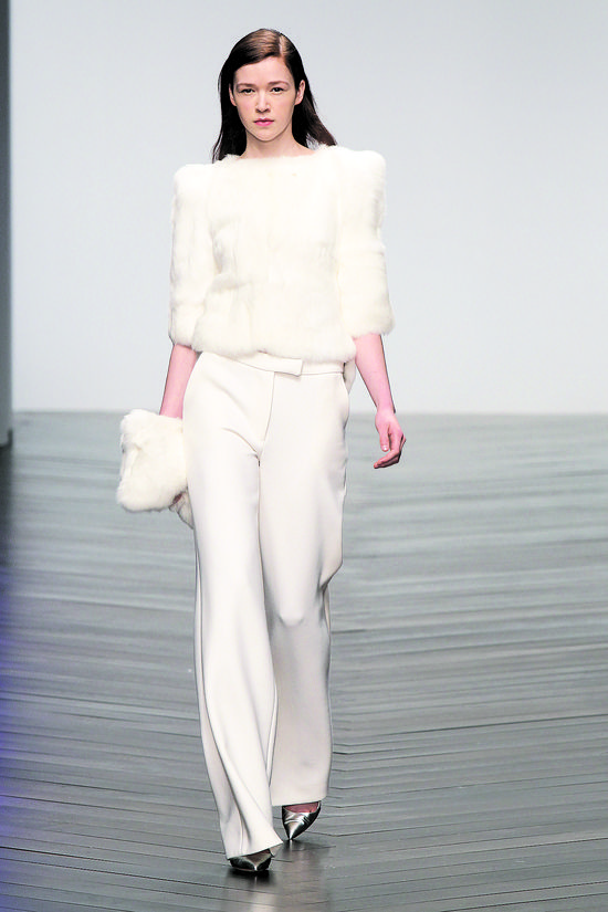 Monochromatic White - Top 10 Fall 2013 Fashion Trends