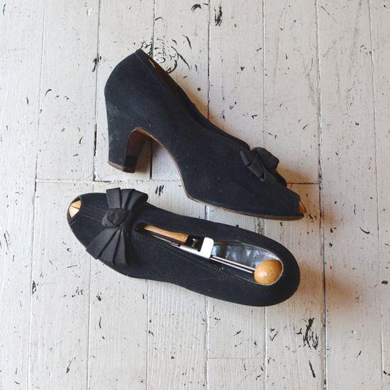 vintage 1940s shoes
