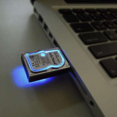 InfoThink 8GB Mini Hard Disk USB Flash Drive