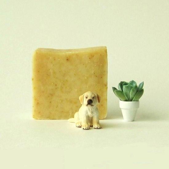 Sweet Orange Cornmeal Soap