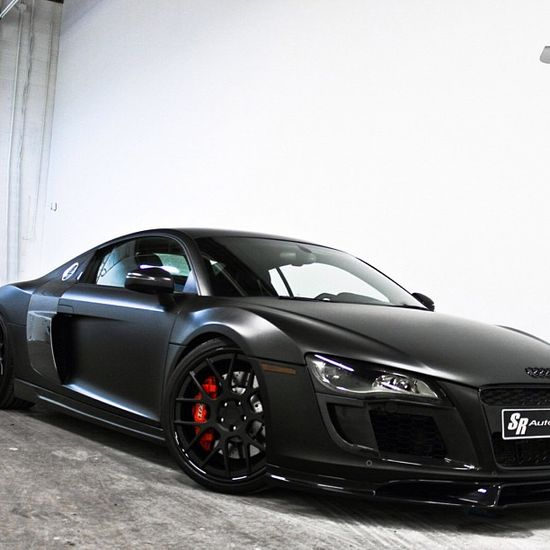 Stunning Blacked out Audi R8!