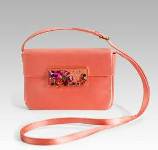 new coral purse to replace my old coral purse