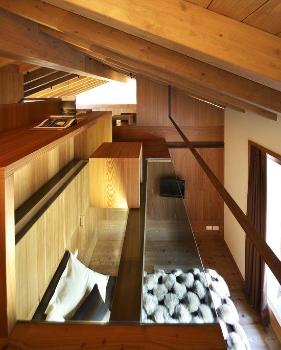 homey & cozy compact residence. Totally loft-like!