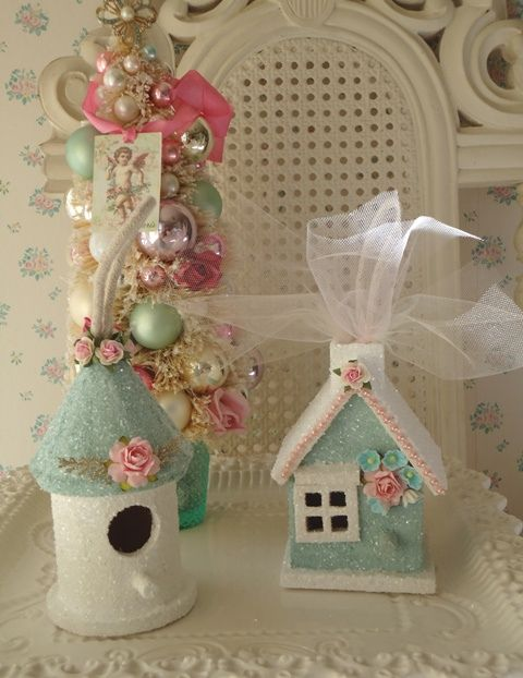 DIY::Birdhouse ornaments