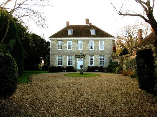 Arundells House, Salisbury, England, 1718-1750 facade.