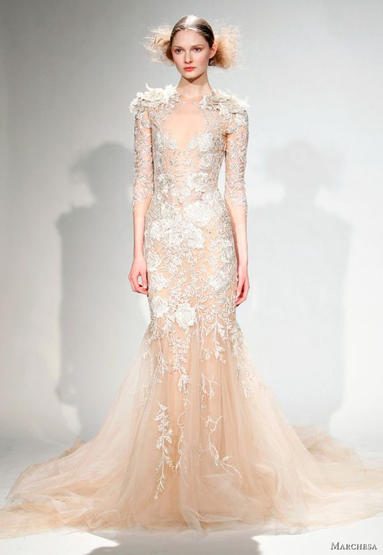 Marchesa Fall/Winter 2011 Dresses