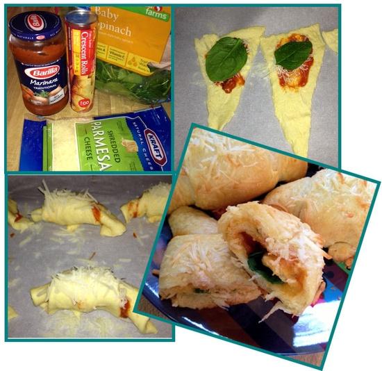 Spinach Parmesan Rolls! So YUMMY!