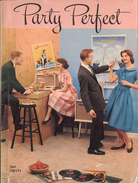 Party Perfect 1959. By Gay Head (yes, that's her name)