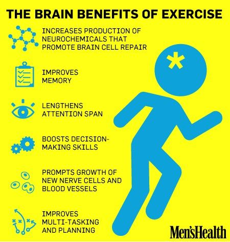 Exercise -- its a good thing.