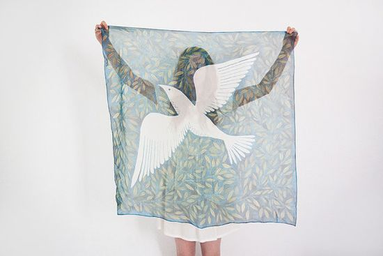 Free as a bird Scarf by oanabefort on Etsy, $78.00