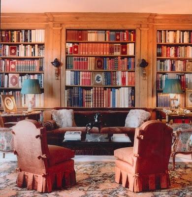 Jayne Wrightsman's London apartment