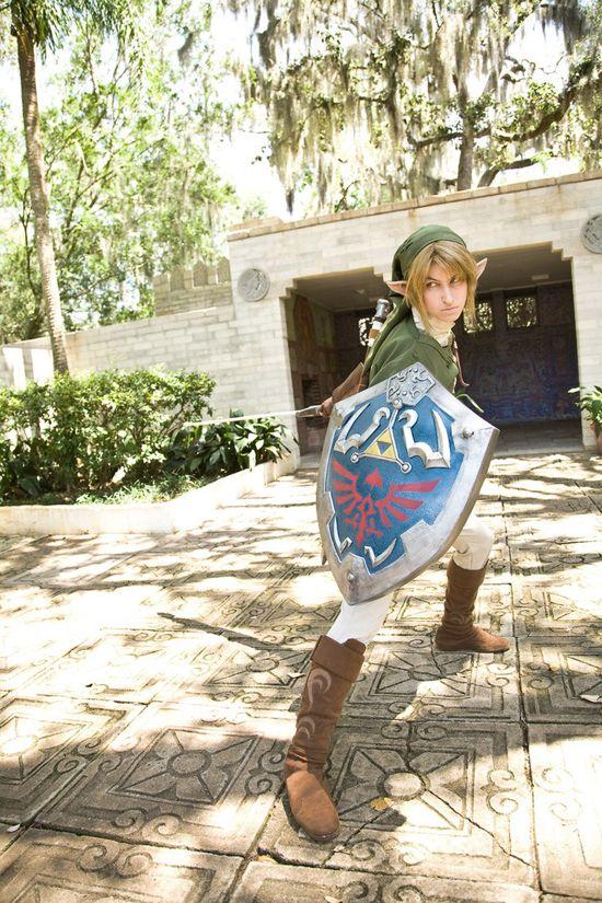 Link The Legend Of Zelda cosplay