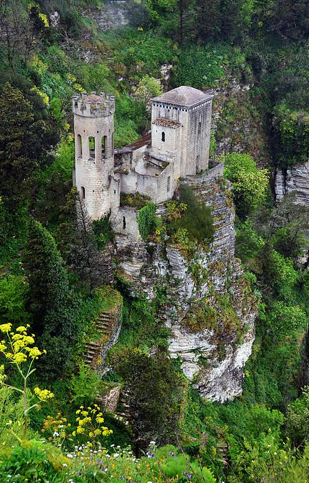Erice Castle, Sicily, Italy.I would love to go see this place one day.Please check out my website thanks. www.photopix.co.nz