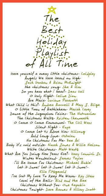 The Best Holiday Playlist of All Time from Design Muse