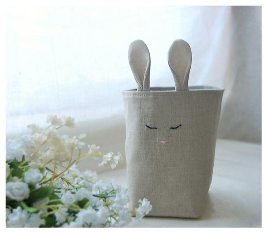 bunny linen organizer