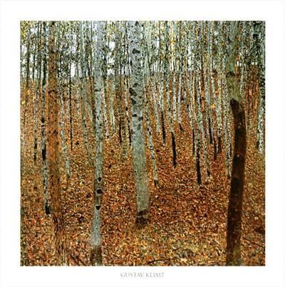 """Il faggeto""  Gustav Klimt –"